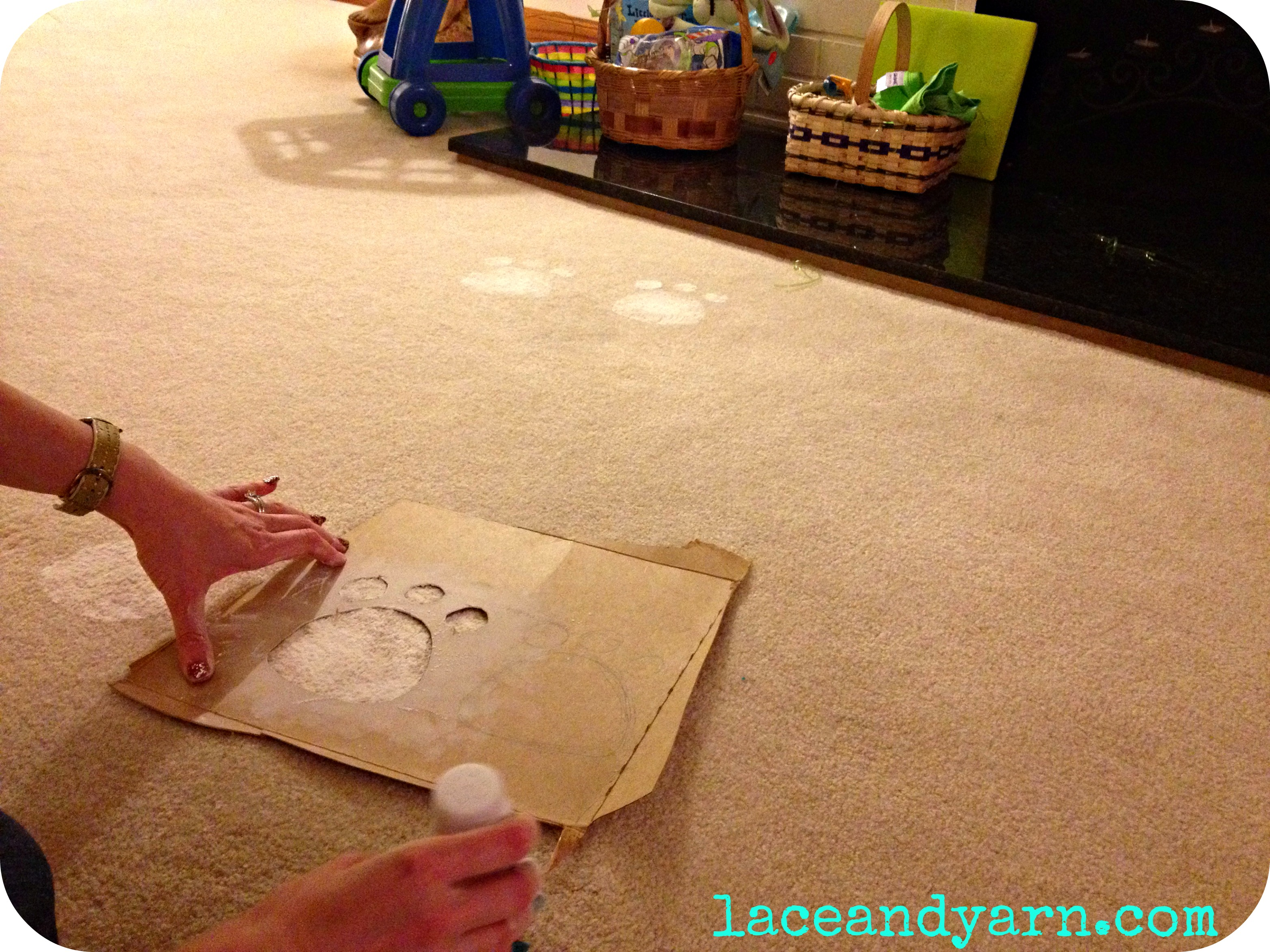 DIY Easter Bunny Prints