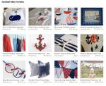 nautical baby gift