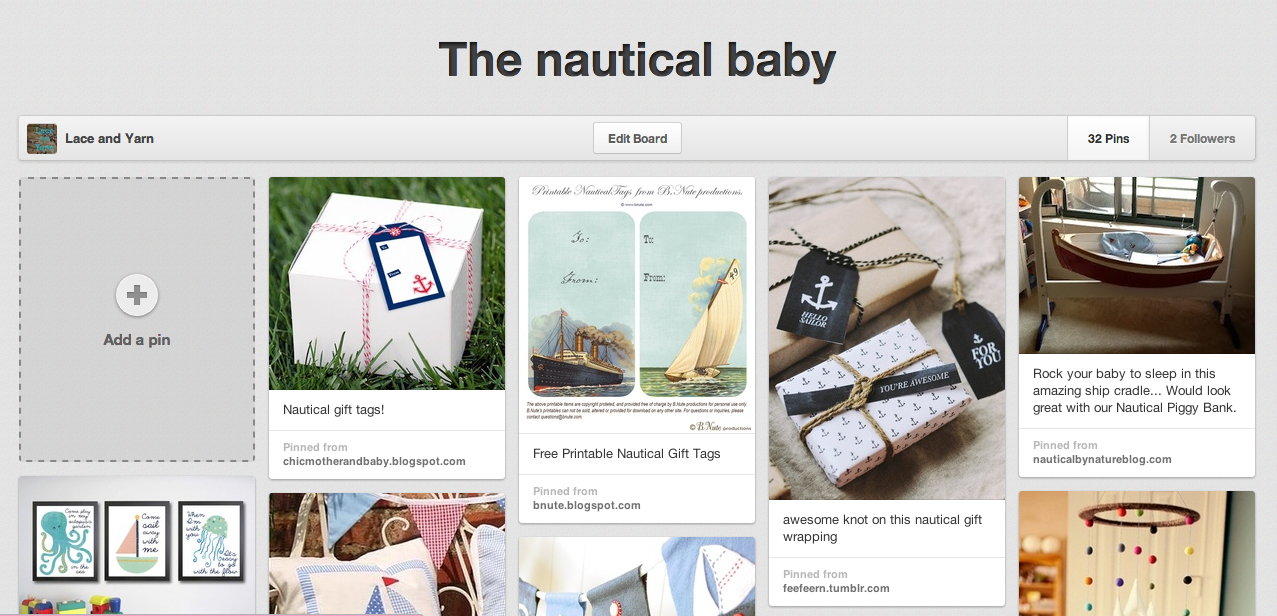 nautical baby gifts