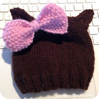 cat baby hat